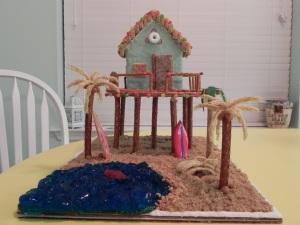 Christmas Beach House