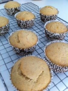 Banana Honey Muffins3