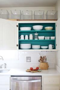 inside cabinet color