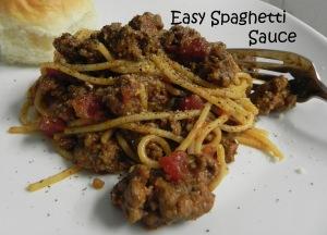 Easy Spaghetti Sauce
